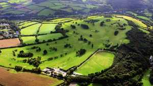 St. Austell GC: Aerial view