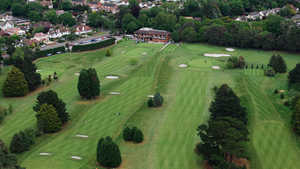 Highcliffe Castle GC: Aerial view
