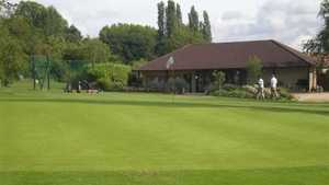 Canons Court GC: #9 & clubhouse