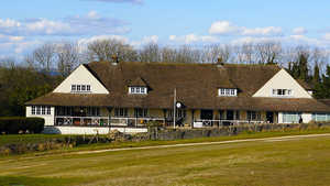 Cleeve Hill GC: Clubhouse