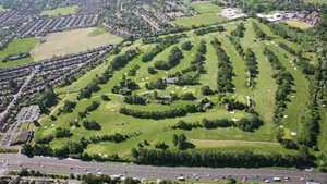Swinton Park GC: Aerial view