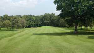 1st green at Waterlooville Golf Club
