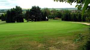 9th hole at Accrington & District