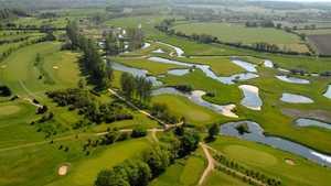 Wensum Valley Hotel, GCC: Aerial view