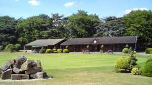 College Pines GC: Clubhouse