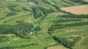 Greetham Valley: Aerial view
