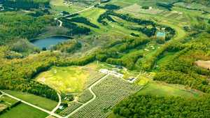 Leelanau Club At Bahles Farms: Aerial view