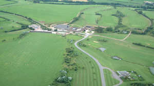 Frome GC: Aerial view