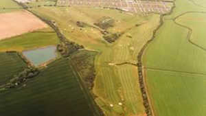 Selsey GC: Aerial view