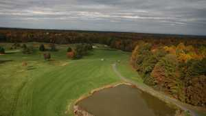 Longest Hole at Meadows Farms GC: #12