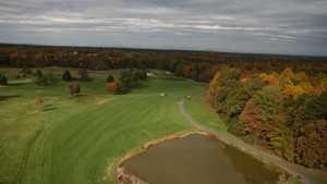Longest Hole at Meadows Farms GC: #12