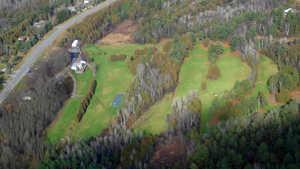 Roxburgh Glen GC: Aerial view