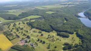 Aroostook Valley CC: Aerial view