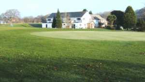 Castell Heights GC: Clubhouse