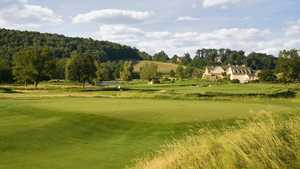 French Creek GC: #17 & clubhouse