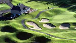 Golf Manitou: Aerial view