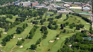 University of Michigan GC: Aerial view