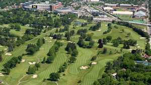 University of Michigan GC: Aerial view