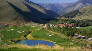 White Clouds at Sun Valley Resort: #9, #1