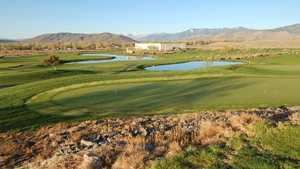 Eagle Valley GC: Practice area