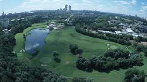 Moscow City GC: Aerial view