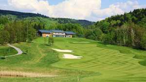 Ypsilon Liberec Golf Resort - 9th hole