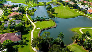 Kelly Greens GCC: Aerial view