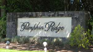 Pumpkin Ridge GC - Entrance Sign