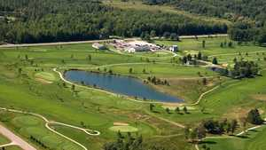 Green Briar GC: Aerial view