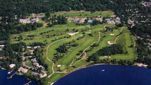Toms River CC: Aerial view