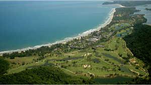 Karambunai Resorts GC: Aerial view