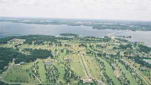 Lake Fork GC: Aerial view