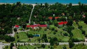 Oakwood Resort: Aerial view