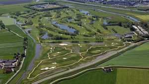 Heemskerkse GC - 18-hole: Aerial view