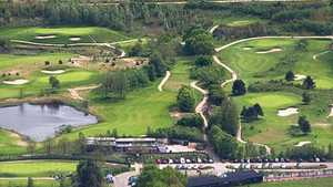 Spanderbosch GC: Aerial view