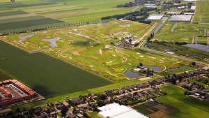 Liemeer GCC -  18-hole: Aerial view