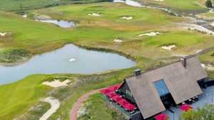Stippelberg GC: Aerial view
