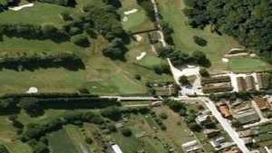 Duisburg Military GC: Aerial view
