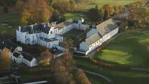 Chateau de la Tournette GC: Aerial view