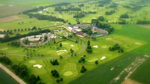 Hulencourt GC - Le Verger: Aerial view