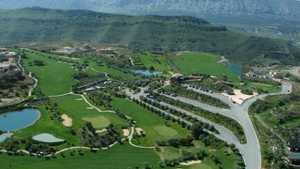 Antequera GC: Aerial view