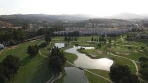 Mijas GC - Los Olivos: Aerial view