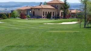 Augusta Golf Calatayud GC: #9 & clubhouse