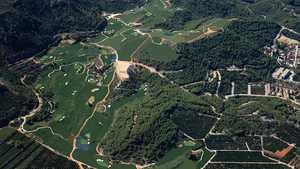 Club de Golf La Galiana: Aerial view