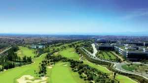 Santander GC: Aerial view