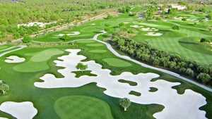 Golf Son Gual: Aerial view
