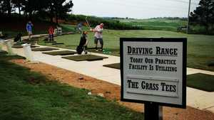Steel Canyon GC: Driving range