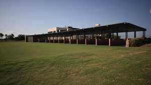 Roda Golf & Beach Resort: Driving range