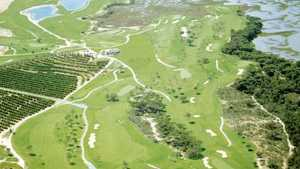 El Rompido GC - North: Aerial view