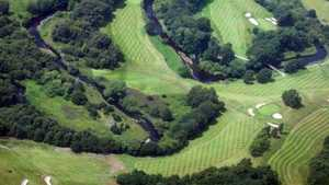Reddish Vale GC: Aerial view